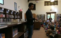 Best Selling Author Visit Oakwood